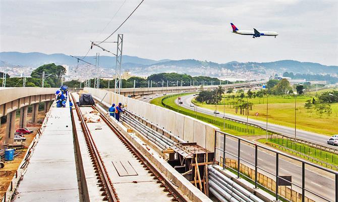 GRU e SSA terão conexões por trem e metrô nestemês