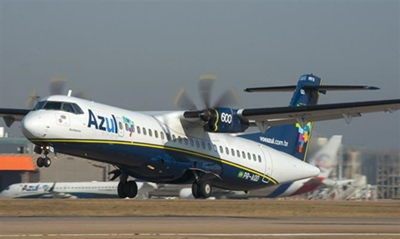 Azul estreou 13 junho, a rota Recife-Mossoró (RN) com 4 frequênciassemanais